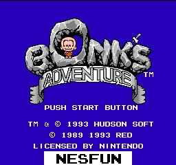 Bonk`s Adventure