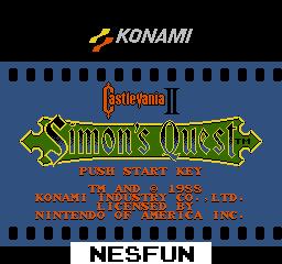 CastleVania II - Simon`s Quest