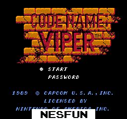 Code Name - Viper
