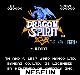 Dragon Spirit - The New Legend