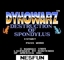 Dynowarz - The Destruction of Spondylus