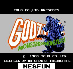 Godzilla - Monster of Monsters