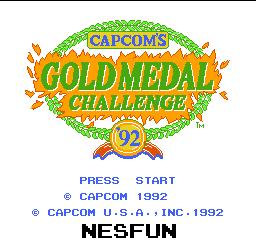 Gold Medal Challenge `92