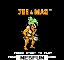 Joe & Mac - Caveman Ninja