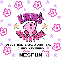 Kirby`s Adventure