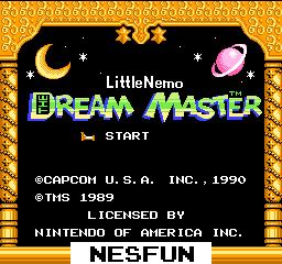 Little Nemo: The Dream Master
