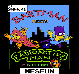 Simpsons, The - Bartman Meets Radioactive Man