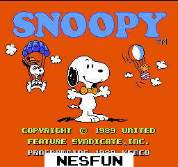 Snoopy`s Silly Sports Spectacular